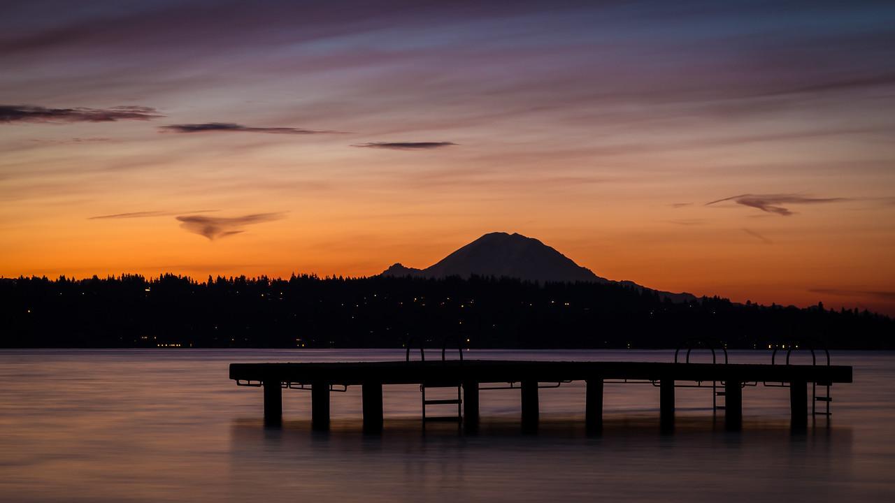 Lake Washington Sunrise